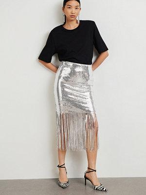 Gina Tricot Sienna fringe skirt