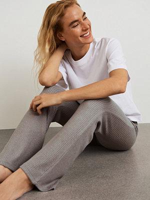 Gina Tricot Stina rib trousers
