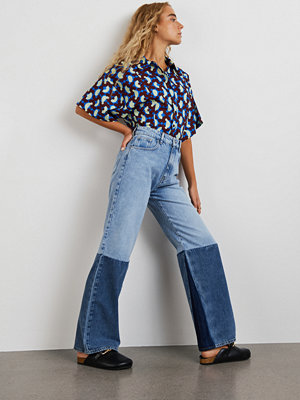 Gina Tricot Block wide jeans