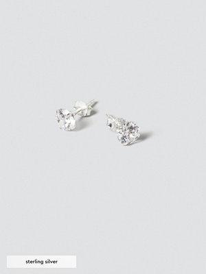 Gina Tricot örhängen Sterling Silver Crystal Studs