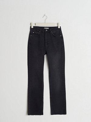 Gina Tricot High waist petite slit jeans