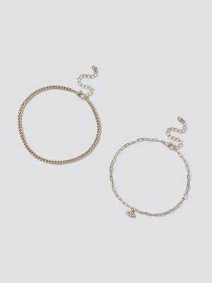 Gina Tricot smycke Gold Eye Anklet Pack