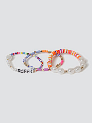 Gina Tricot armband Happy bead & Pearl Bracelet Pack.