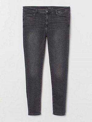 H&M H & M+ Shaping Skinny Jeans grå