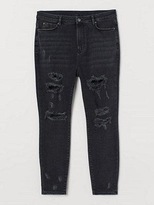 H&M H & M+ Super Skinny High Jeans svart