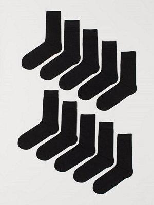 H&M 10-pack strumpor svart