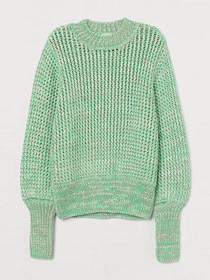 H&M Grovstickad tröja grön