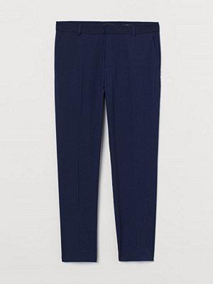 Byxor - H&M Kostymbyxa Skinny Fit blå