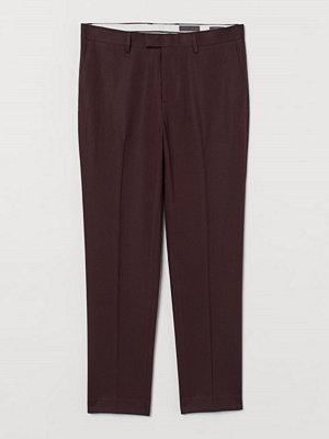 H&M Kostymbyxa Slim Fit röd