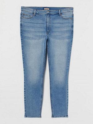 H&M H & M+ Skinny High Jeans blå