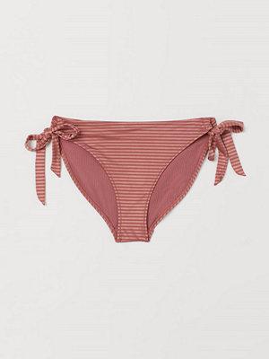 H&M Bikinitrosa briefs röd