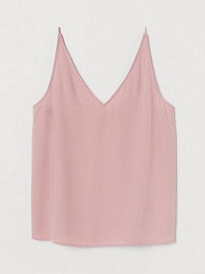Linnen - H&M V-ringat linne rosa