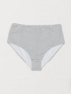 H&M Bikinitrosa highwaist vit