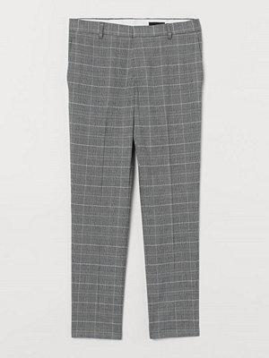 Byxor - H&M Kostymbyxa Skinny Fit grå