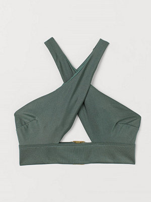 H&M Bikinitopp grön