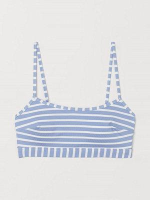 H&M Bikinitopp blå