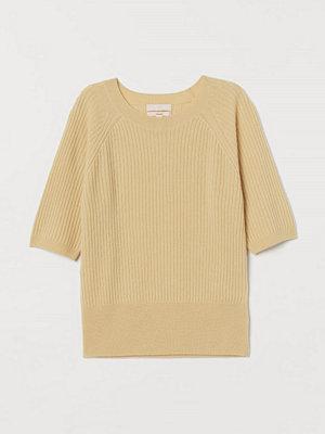 H&M Tröja i kashmir gul