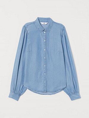 H&M Denimblus i lyocell blå