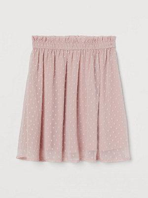 H&M Chiffongkjol rosa