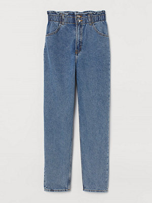H&M Tapered High Ankle Jeans blå