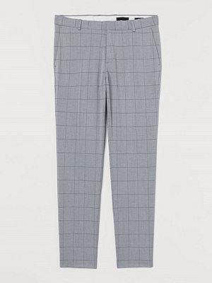 Byxor - H&M Kostymbyxa Slim Fit grå