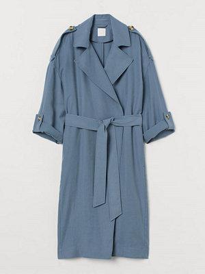 H&M Kappa med knytskärp blå