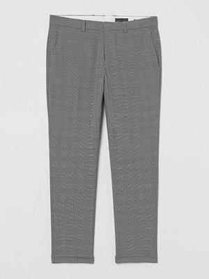 H&M Kostymbyxa Skinny Fit vit