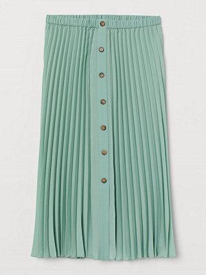 Kjolar - H&M Plisserad kjol grön