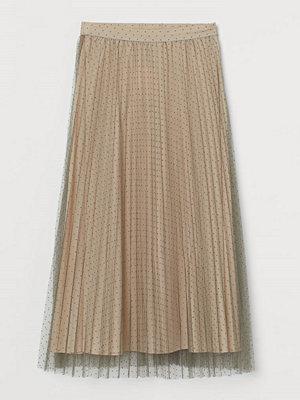 Kjolar - H&M Plisserad tyllkjol rosa