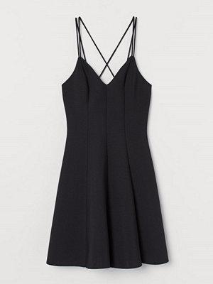 H&M Klänning i scuba svart