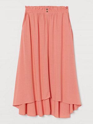 H&M Vadlång kjol orange