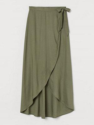 H&M Omlottkjol grön