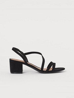 H&M Sandaletter svart