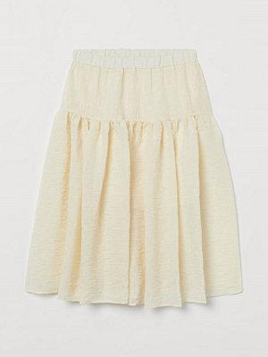 H&M Luftig kjol beige