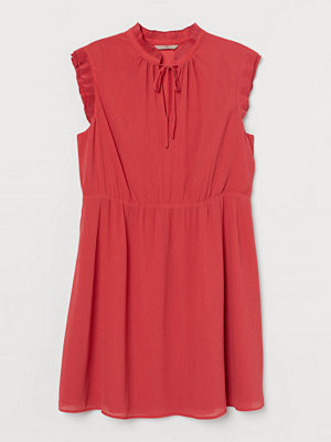 H&M H & M+ Chiffongklänning röd