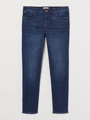 Jeans - H&M H & M+ Push up Jeggings blå