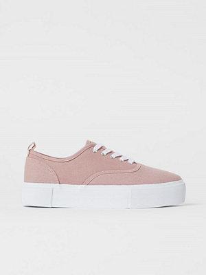 H&M Platåsneakers rosa