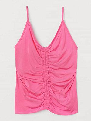 H&M Draperat linne rosa
