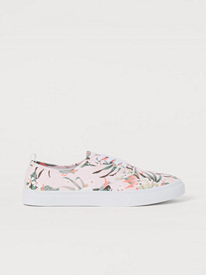 H&M Sneakers i canvas beige