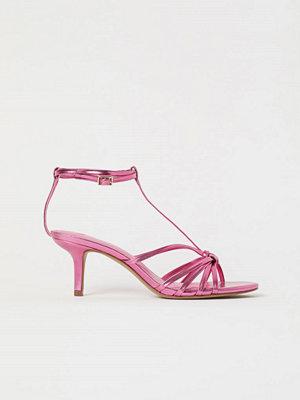 H&M Skimrande sandaletter rosa