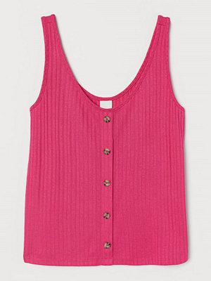 H&M Ribbat linne rosa