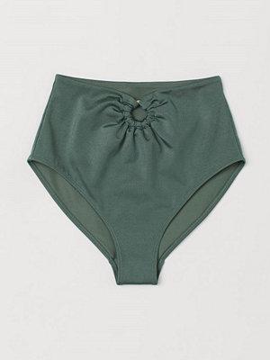H&M Bikinitrosa grön