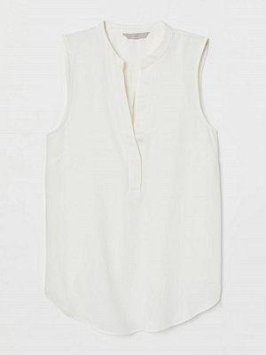 H&M V-ringad blus vit