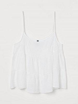 H&M Voluminöst linne vit