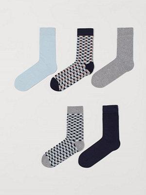 Strumpor - H&M 5-pack strumpor grå