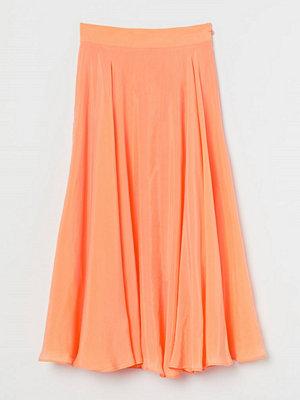 H&M Cirkelskuren kjol orange