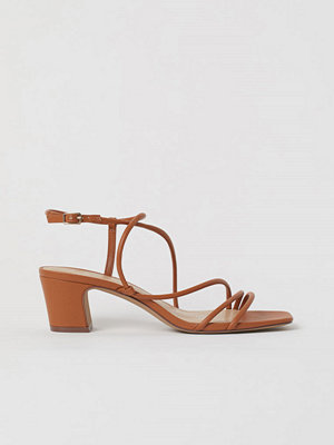 H&M Remsandaletter orange