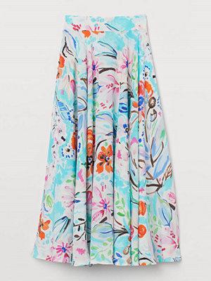 H&M Cirkelskuren kjol turkos