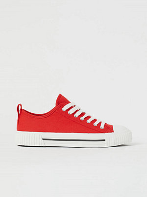 H&M Sneakers röd