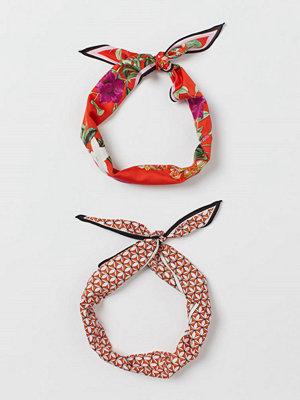 Halsdukar & scarves - H&M 2-pack scarf/hårband röd